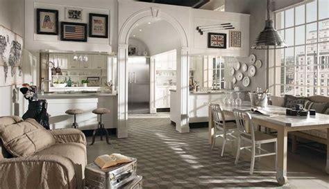 Interni rustici e atmosfere country - Progettazione Casa