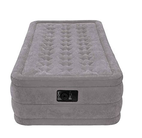 Intex Ultra Plush Airbed with Built In Electric Pump ...