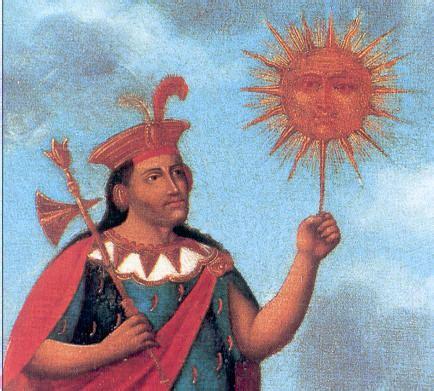 Inti, el dios sol de la mitología inca