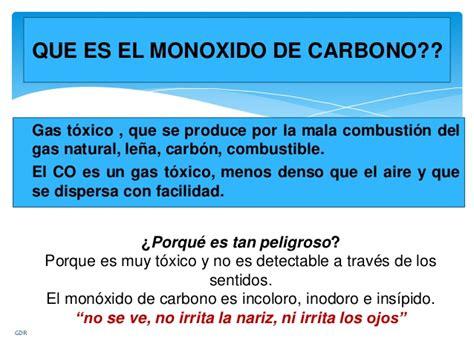 Intoxicacion por monoxido de carbono 1