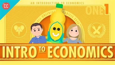 Intro to Economics: Crash Course Econ #1 - YouTube