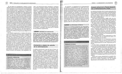introducción a la teoría general de la administración ...
