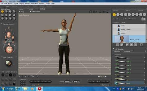 Introduccion a Poser 8 software para crear personajes 3d ...