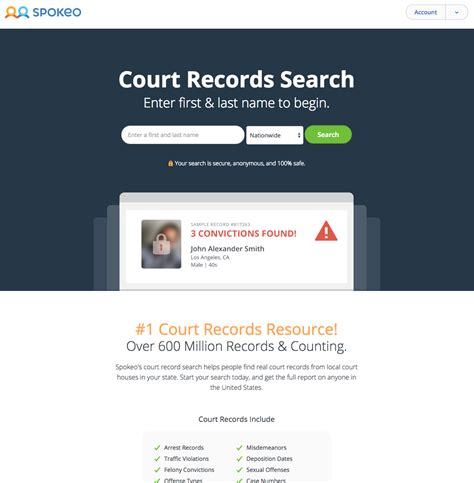 Introducing Court Record Search on Spokeo « Spokeo People ...