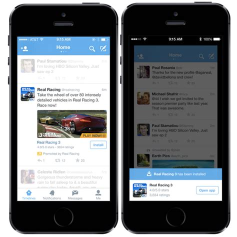 Introducing mobile app promotion   Twitter Blogs
