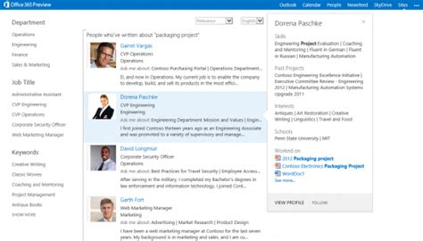 Introducing People Search - Microsoft 365 Blog