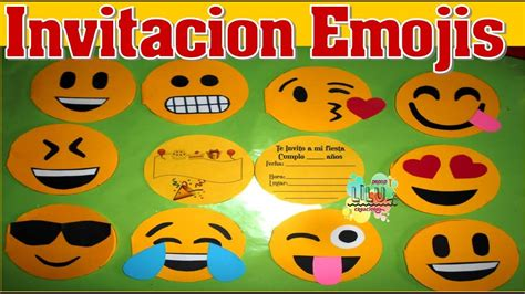 Invitación de Emojis   YouTube
