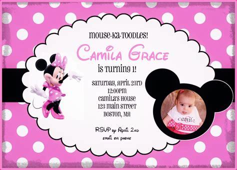 invitacion para cumpleaños de minnie mouse Archivos ...