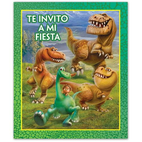 Invitación Un Gran Dinosaurio - Party Pieces