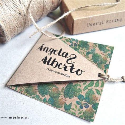 invitaciones de boda originales | Mardepapel Atelier ...