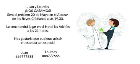 Invitaciones De Boda Texto Original | www.pixshark.com ...