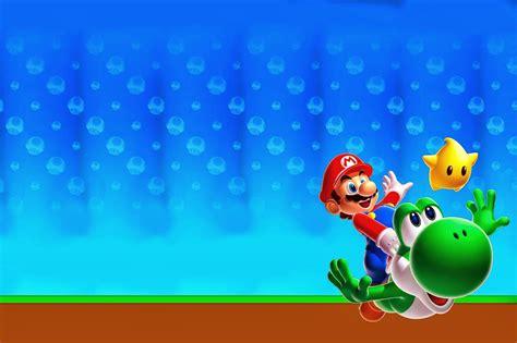 Invitaciones De Cumpleaños De Mario Bros Para Descargar ...