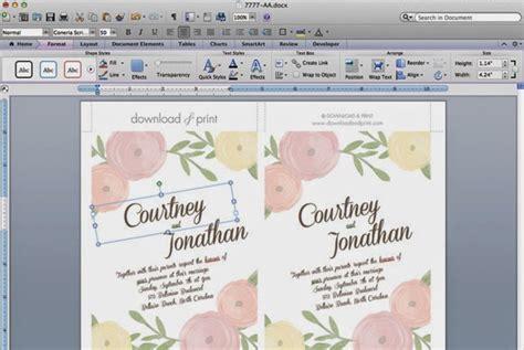 Invitaciones florales imprimibles para tu boda - Blog de ...