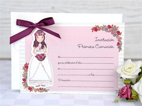 INVITACIONES NIÑA PRIMERA COMUNIÓN 208021
