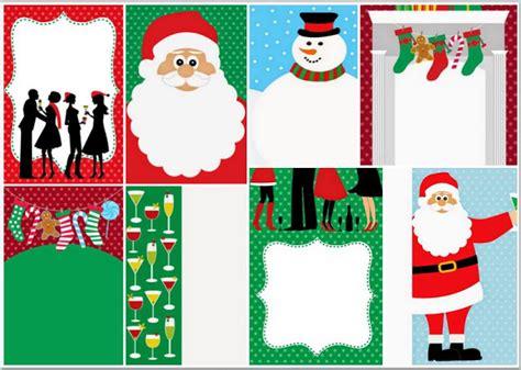 Invitaciones, Tarjetas o Fondos para Navidad para Imprimir ...
