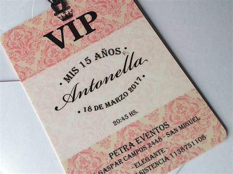 Invitaciones VIP Quince Años   vane   Pinterest   Quince ...