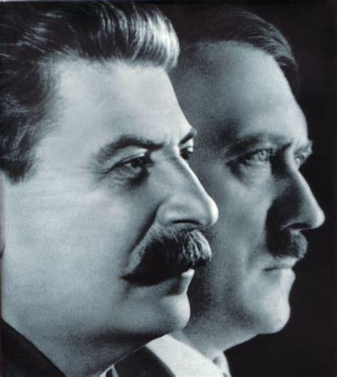 Iósif Stalin y Adolf Hitler, demonios gemelos del siglo XX ...