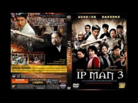 IP MAN 3 LA LEYENDA DEL MAESTRO DE BRUCE LEE - YouTube