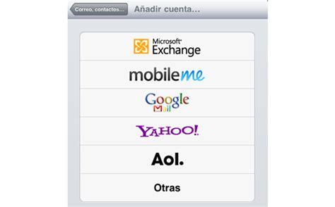 iPad | Configurar el correo electrónico en el Mail de iPad ...
