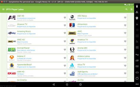 IPTV Player Latino Excelente App Para Android [Todo en Uno]