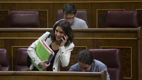 Irene Montero, tras intentar sustituir a Errejón en «Hora ...