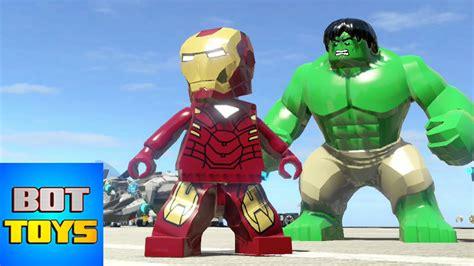 Iron Man de los Dibujos Animados de Los Vengadores en Lego ...