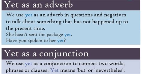 Is yet an adverb or conjunction?