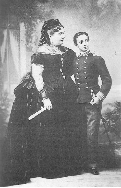 Isabel II and the future Alfonso XII | Grand Ladies | gogm