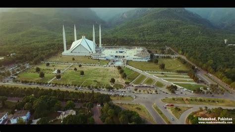Islamabad City 2017 Capital of Pakistan Aerial Views HD ...
