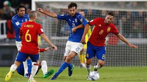 Italia 1   1 España: resumen, resultado y goles del ...