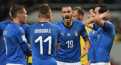 Italia, al borde de su peor fracaso futbolístico en 60 años
