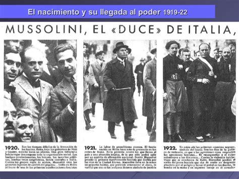 Italia en el periodo de entreguerras. La Italia de Mussolini