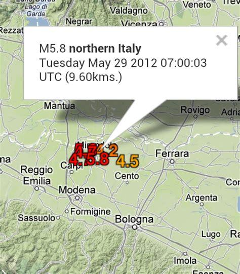 Italia. Nuevo sismo de 5.8 afecta el norte del pais - ClimaYa