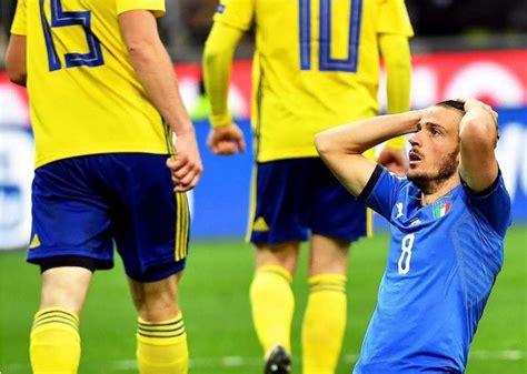 Italia sin Mundial: batacazo de Suecia en el Giuseppe ...
