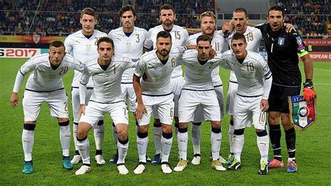 Italia venció a Macedonia por la fecha 3 de Eliminatorias ...