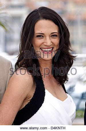 Italian actress and jury member Asia Argento and her ...