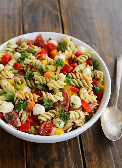 Italian Pasta Salad Recipe — Dishmaps