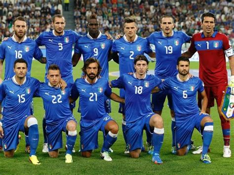 Italian Soccer Team  World Cup 2014  Pictures, Photos, and ...