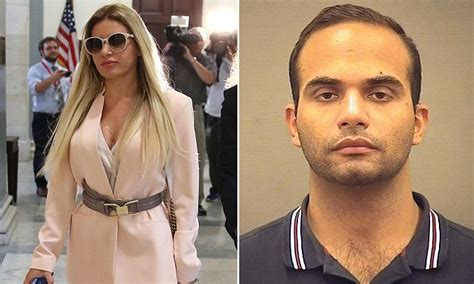 Italian wife of Papadopoulos strolls through the Capitol ...