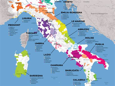 Italian Wine Map and Exploration Guide | Wine Folly