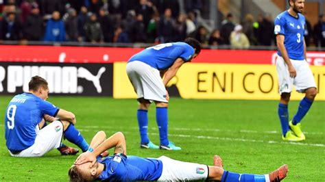 Italy players and fans were devastated after missing the ...