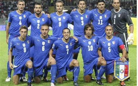 Italy team at World Cup 2010 in pictures   Telegraph