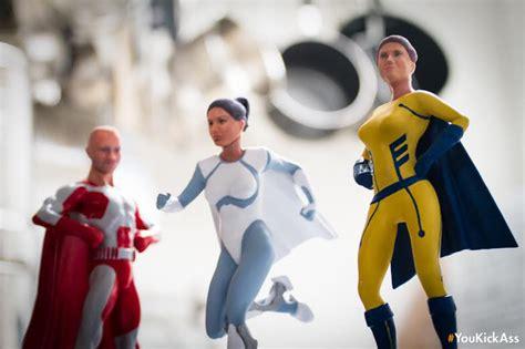 It's Time You Kick Ass — As a Customized Superhero Action ...