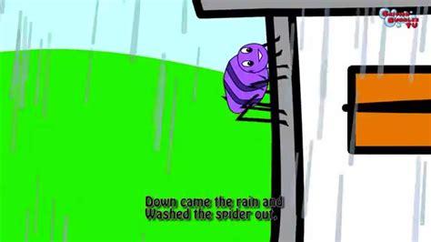 Itsy bitsy spider, canción infantil en inglés con ...