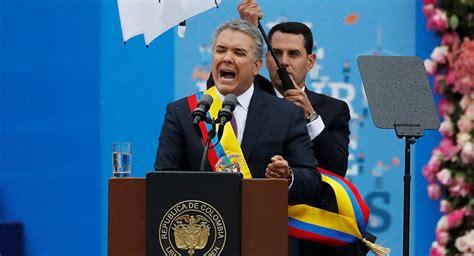 Iván Duque asume como nuevo presidente de Colombia ...