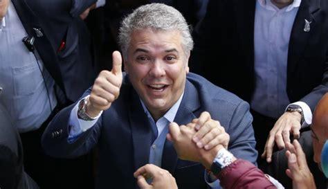 Iván Duque nuevo presidente de Colombia con el 53, 96% de ...