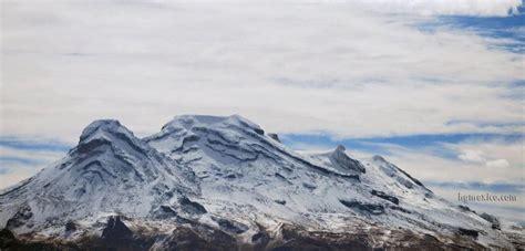 Iztaccihuatl 5238m tercer montaña mas alta de México