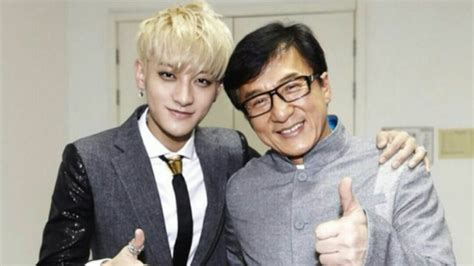 Jackie Chan Posts a Friendly Snapshot Taken with EXO s Tao ...