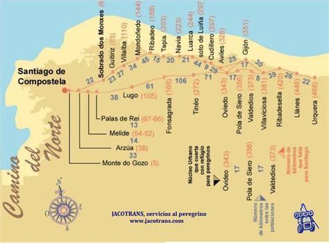 JACOblog..............el blog del Camino: Mapas del Camino