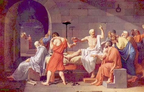 Jacques-Louis David - Muerte de Sócrates | Artelista.com